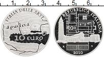 Изображение Монеты Италия 10 евро 2010 Серебро Proof Искусство Италии. Ак