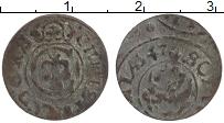 Изображение Монеты Литва 1 солид 1647 Серебро XF