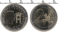 Продать Монеты Люксембург 2 евро 2004 Биметалл