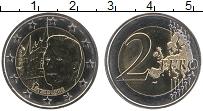 Продать Монеты Люксембург 2 евро 2007 Биметалл