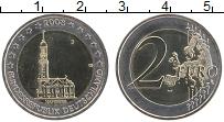 Изображение Монеты Германия 2 евро 2008 Биметалл UNC J. Федеральные земли