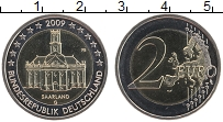 Изображение Монеты Германия 2 евро 2009 Биметалл UNC G. Федеральные земли