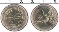 Изображение Монеты Германия 2 евро 2009 Биметалл UNC J. 10 лет Экономичес