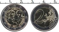 Изображение Монеты Бельгия 2 евро 2011 Биметалл UNC 100 лет Международно