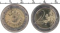 Изображение Монеты Франция 2 евро 2012 Биметалл UNC 10 лет наличному обр