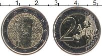 Изображение Монеты Финляндия 2 евро 2013 Биметалл UNC 125 лет со дня рожде