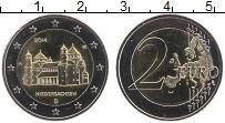 Изображение Монеты Германия 2 евро 2014 Биметалл UNC A. Федеральные земли