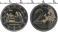 Изображение Монеты Германия 2 евро 2014 Биметалл UNC D. Федеральные земли