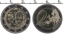 Продать Монеты Греция 2 евро 2014 Биметалл