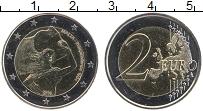 Изображение Монеты Мальта 2 евро 2014 Биметалл UNC 50 лет Независимости