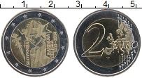 Продать Монеты Словения 2 евро 2014 Биметалл