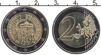 Изображение Монеты Германия 2 евро 2015 Биметалл UNC F. 25 лет Объединени