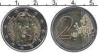 Изображение Монеты Словакия 2 евро 2015 Биметалл UNC 200 лет со дня рожде