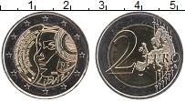 Изображение Монеты Франция 2 евро 2015 Биметалл UNC 225 лет фестивлю фед