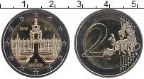 Изображение Монеты Германия 2 евро 2016 Биметалл UNC D. Федеральные земли