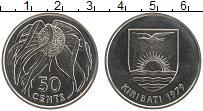 Изображение Монеты Кирибати 50 центов 1979 Медно-никель UNC