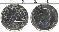 Изображение Монеты Канада 25 центов 2009 Медно-никель UNC Елизавета II. Олимпи