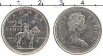 Изображение Монеты Канада 25 центов 1973 Медно-никель XF Елизавета II. 100 ле