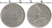 Изображение Монеты Франция 100 франков 1955 Медно-никель XF