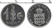 Продать Монеты Монако 1 сентим 1979 Медно-никель