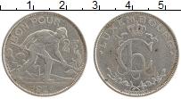 Изображение Монеты Люксембург 2 франка 1924 Медно-никель XF