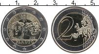 Изображение Монеты Италия 2 евро 2016 Биметалл UNC 2200 лет со дня смер