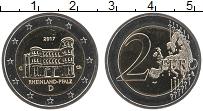 Изображение Монеты Германия 2 евро 2017 Биметалл UNC G. Федеральные земли