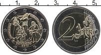 Изображение Монеты Словакия 2 евро 2017 Биметалл UNC 550 лет Истрополитан