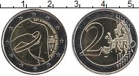 Изображение Монеты Франция 2 евро 2017 Биметалл UNC Борьба против рака м