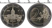 Изображение Монеты Германия 2 евро 2018 Биметалл UNC F. Федеральные земли
