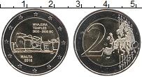 Продать Монеты Мальта 2 евро 2018 Биметалл
