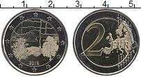 Изображение Монеты Финляндия 2 евро 2018 Биметалл UNC