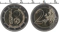 Изображение Монеты Эстония 2 евро 2018 Биметалл UNC 100 лет Эстонской Ре