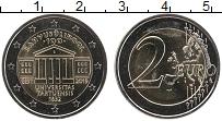 Изображение Монеты Эстония 2 евро 2019 Биметалл UNC Университет в Тарту