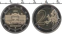Изображение Монеты Германия 2 евро 2019 Биметалл UNC A. Бундесрат