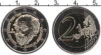 Изображение Монеты Греция 2 евро 2019 Биметалл UNC Андреас Кальвоса