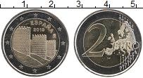 Изображение Монеты Испания 2 евро 2019 Биметалл UNC Старый город Авилла