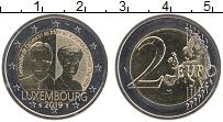 Изображение Монеты Люксембург 2 евро 2019 Биметалл UNC 100-летие вступление