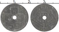 Изображение Монеты Бельгия 5 сантим 1942 Цинк XF Немецкая оккупация