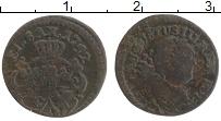 Изображение Монеты Польша 1 солид 1752 Медь VF Август III