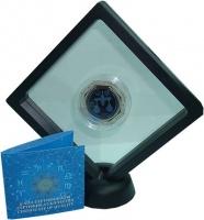 Изображение Подарочные монеты Казахстан 100 тенге 2018 Серебро Proof Знаки Зодиака - Весы