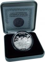 Изображение Подарочные монеты Казахстан 500 тенге 2014 Серебро Proof
