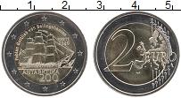 Изображение Монеты Эстония 2 евро 2020 Биметалл UNC 200 лет открытия Ант