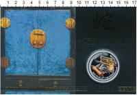 Изображение Подарочные монеты Тувалу 1 доллар 2013 Серебро Proof Монета номиналом 1 д