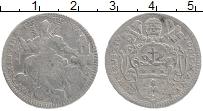 Изображение Монеты Ватикан 2 джулио 1773 Серебро VF Клемент XIV