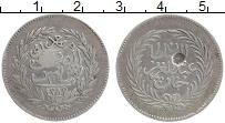 Изображение Монеты Тунис 2 пиастра 1878 Серебро XF