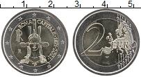 Изображение Мелочь Италия 2 евро 2021 Биметалл UNC 150 лет объявления Р