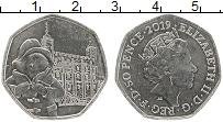 Изображение Монеты Великобритания 50 пенсов 2019 Медно-никель UNC Медвежонок Паддингто