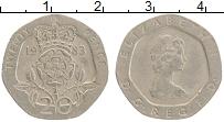 Изображение Монеты Великобритания 20 пенсов 1983 Медно-никель XF Елизавета II.