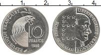 Изображение Монеты Франция 10 франков 1986 Медно-никель UNC- Роберт Шуман